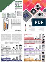 Addolcitori acqua anticalcare domestici Serie CS - Manual (ITA/ENG)