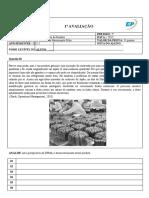 Engenharia Mecânica - 6º período -Engenharia do Produto - P1 - Pedro