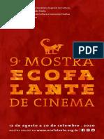 9ª Mostra Ecofalante de Cinema 2020 | Folder da Programação