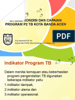 Situasi & Kondisi Program P2TB Tahun 2016-2017 - 2018