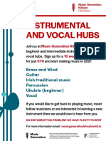 instrumental and vocal hubs poster