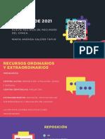 ICDP - Nuevo Régimen de Recursos