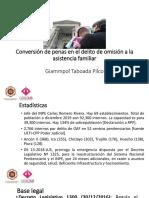 Giampol Taboada Conversion de Pena en OAF