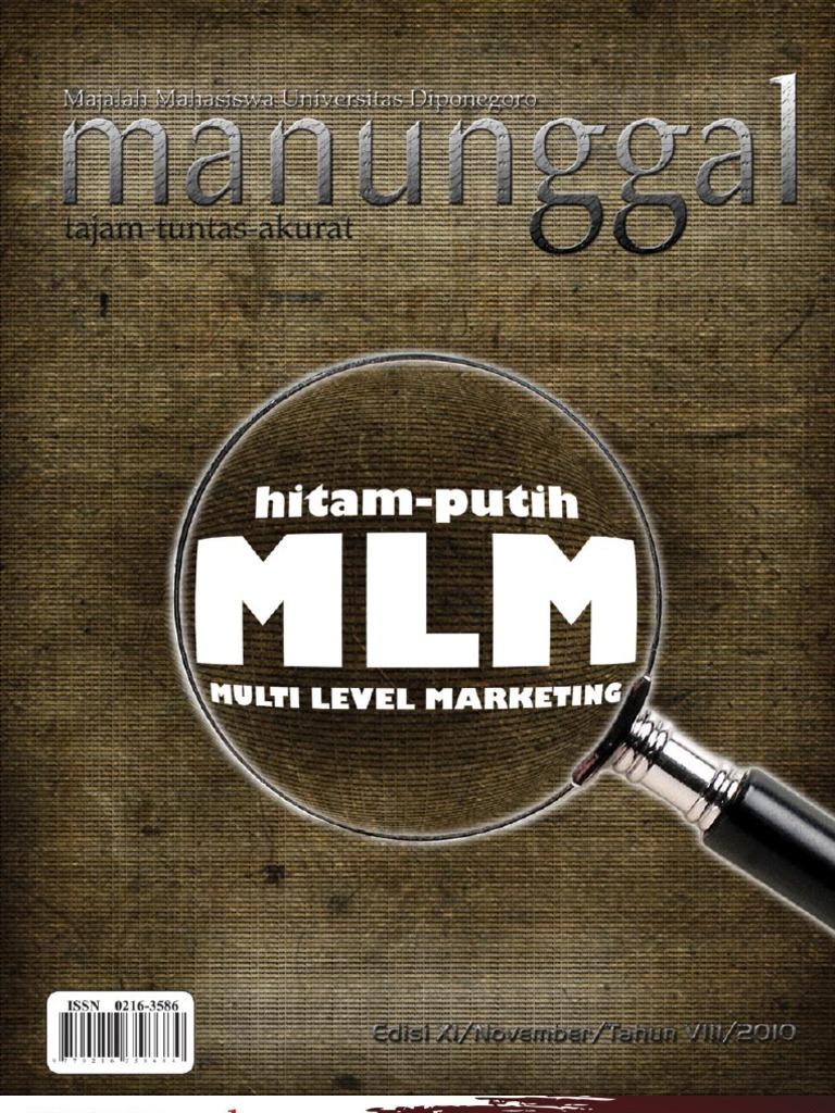 Majalah Manunggal Multi Level Marketing Kopi Bubuk By Ridha Utama Smg