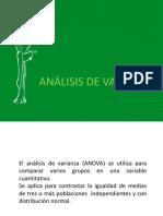Unidad Viii. Análisis de Varianza y Kruskal Wallis-wilcoxon (1)