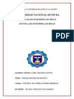 Informe Ms Project