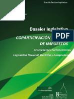 DOSSIER LEGISLATIVO Nacional N 200 Coparticipacion Federal de Impuestos