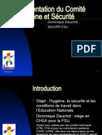Presentation Du Comite Hygiene Et Securite-2