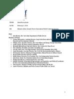 CAC Power Generation Public Comment Session Notes 2-3