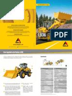 livro manual de operação pá carregadeira sdlg L936_V201803