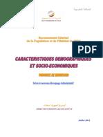 Caractéristiques Démographiques Et Socio-économiques de La Province de Berrechid RGPH 2004, Juillet 2011 (1)