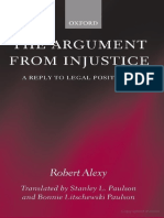 Robert Alexy - The Argument From Injustice_ a Reply to Legal Positivism (Law) (2003)