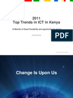 Google 2011 Top Trends in ICT in Kenya