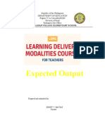 LDM output