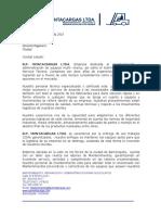 Brochure 2018 b.p.montacargas Ltda