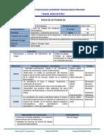 5. Ficha de Actividad Control de Calidad de Medicamentos