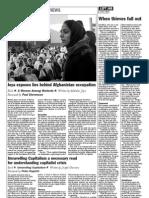 Malalai Joya exposes lies behind Afghanistan occupation