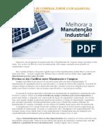 DEPARTAMENTO DE COMPRAS X MANUTENÇÃO