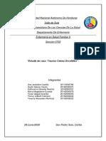 estudio de caso trauma craneal 2020