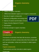 Chapter 1 Int. to Organic Chemistry