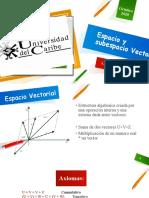 Espacio y subespacio Vectorial(1)