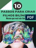 E-book 10 Passos para Criar Filhos Bilíngues