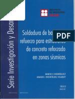 Soldadura de Barras de Acero UNAM