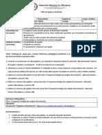 Taller de apoyo y nivelación 10° SEGUNDO PERIODO Español