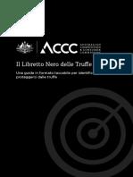 The Little Black Book of Scams - Italian - Italiano