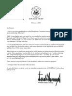 Trump SAG AFTRA letter