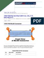 1995 PCM Pin Out Chart (GM 4.3L, 5.0L, 5.7L GAS w_-- 4L60-E or 4L80-E)