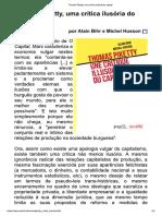 Thomas Piketty, uma crítica ilusória do capital