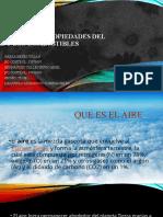 Composición y propiedades del aire y de los combustibles