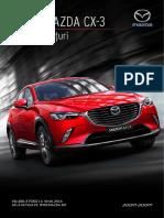 Lista de preturi Mazda CX-3