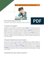 08. Tipos de Impuestos aplicables en Venezuela