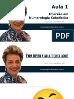 i16 2021 Aula 1 Caderno de Aprendizado Imersao Em Numerologia Cabalistica 26-27-28 e 29 01 as 20h Com Wanice Bonavigo