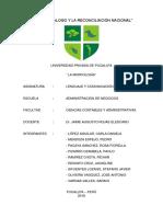 morfología y categorias gramaticales