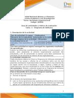 Guia de actividades y Rúbrica de evaluación - Unidad 3 - Tarea 4 - Diagrama de Ishikawa