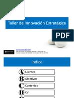 Avanzalis Taller de Innovación Estratégica sp  v16 110222vc