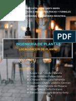 TRABAJO DE FASE 1 - INGENIERÍA DE PLANTAS SECCIÓN A