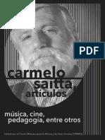 Saitta Carmelo ¿Hay una música para cine, hay un cine para la música?