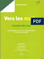 Vers Les Maths GS ENTIER