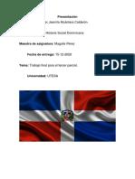 Trabajo Historia Dominicana