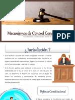 Mecanismos de Control Constitucional