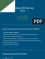 Presentación resumen APA