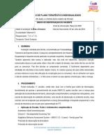 PLANO TERAPÊUTICO INDIVIDUALIZADO - MODELO