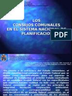Los Consejos comunales en el Sistema Nacional de Planificación