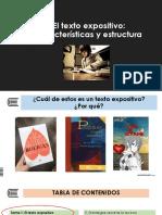 S.1 El Texto Expositivo - Características y Estructura-convertido