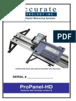 ProPanel Manual Firmware V4 Rev 08132020
