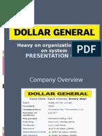A Case Study-Dollar general
